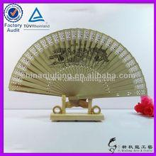 panda sandal wood fan/cloth arts and crafts