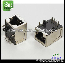 PCB RJ45 Connector 10 pin shield rj45 Connector