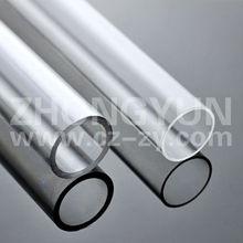 Transparent plexiglass pipe