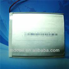 1050mah 3.7v li polymer battery packs