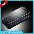 el más reciente 2014 productos templado de vidrio protector de pantalla para el iphone smartphone 5