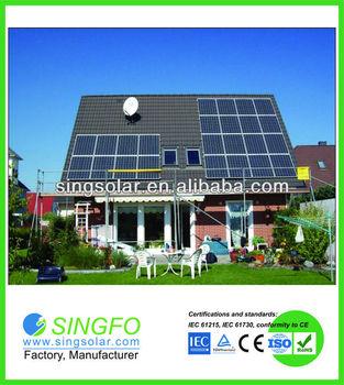 New 120W/130W/140W 36pcs mono cells pv Solar Panel 1445*673*40mm