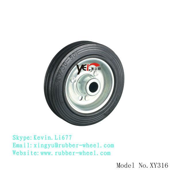 4 polegada petite roue en acier pour chariot