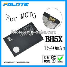 Factory price!!!Bateria BH5X for Motorola mobile phone