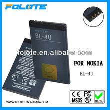 Original for Nokia E66 C5-03 8800 6600 5730 Akku Batterie BL-4U BL4U 1000mAh BULK