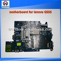 100% travail carte mère d'ordinateur portable pour lenovo carte mère g555intégration la-5972p 1.0 rev