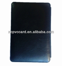Black Genuine Leather Tablet PC Case