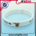 weiße farbe mode armband kautschuk