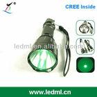 C8 green led hunting flashlight