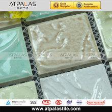 Ceramics models for floor,Flooring ceramic mosaic tile,White colored ceramic tiles mosaic
