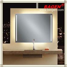 Fog free mirrors for baths, bathroom decorative mirror, CE, UL standards
