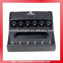 XTAR WP6II Multifunction 10440/14500/14650/17670/18650/18700 3.6V/3.7V Lithium-ion Battery Charge (EU Plug)