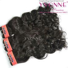 Beautiful 100% virgin brazilian Romance Curl remi hair extension