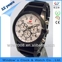 2013 top brand men watch with swiss army chronometer men hand watch