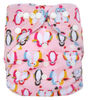 New Arrive Reusable PUL minky fabric Eco-friendly baby cloth diaper with button closure