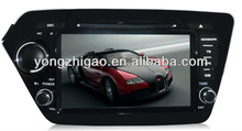 8inch 2din car dvd for KIA-K2/RIO with BT/PIP/GPS/touch screen /radio tuner all functions