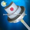 water base air freshener aerosol valve