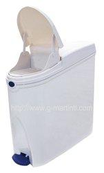 20L Automatic Infrared Sensor Self Opening Plastic Feminine Hygiene Pedal Sanitary Bin