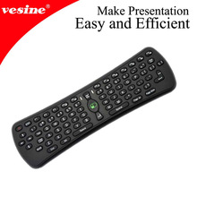 2.4GHZ mini keyboard with air mouse for TV and tablet
