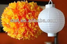 2013 Popular Round LED paper lantern for wedding decoration