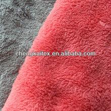 100 polyester coral fleece/velvet like fabric for blanket/nightgowns