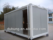 combined folding container house for office/sleeper/toilet/ablution