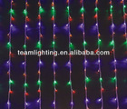 multicolor LED christmas curtain lights for decoration
