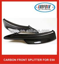 CARBON FIBER FRONT SPLITTERS E90 LCI M-TECH M SPORT PERFORMANCE STYLE