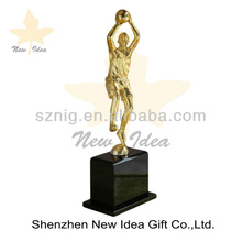 New Idea basketball man of positive great vision metal trophy awards , souvenir gifts