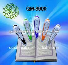 8GB Flash Quran Pen QM8900 with Tajweed word by word Al-Quran