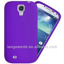 NEW ARRIVAL silicon galaxy s4 cover case for samsung i9500