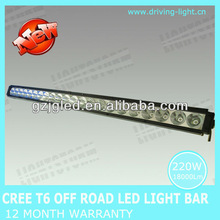 Off Road 12V LED Light Bar IP67 40w/80w/140w/180w/220w Cree T6 4X4 Driving lamp, Offroad T6 Bar, Auto tuning Lights