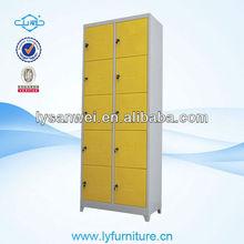 SW-W045 yellow 10 doors gym foot locker
