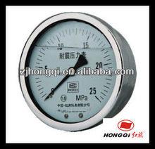 Hydraulic SS Pressure Gauge mercury manometer