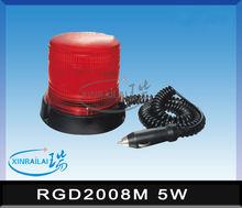 5W ip67 led warning light RGD2008M 12V/24V DC