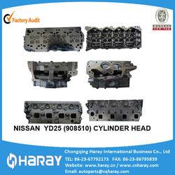YD25 engine cylinder head For Navara/Pathfinder 2.5DDTi 16v,2005- YD25(11039-EC00A /AMC:908510)