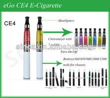 2012 new colorful vaporizers ce4 plus gift box e cigs