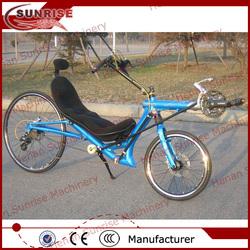 China 24 speed 2 wheels recumbent bicycle
