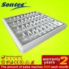 Spraying Plastic Square Grid Light For Office Buliding troffer light