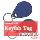 13.56MHz ABS Plastic Key Fob/ RFID Card/ RFID Keychain