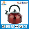 antique colorful stainless steel whistling water kettle