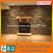 Decorative natural stone fireplace manufacturer