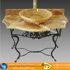 Natural Yellow Onyx Bathroom Vanity with Quality Assurance