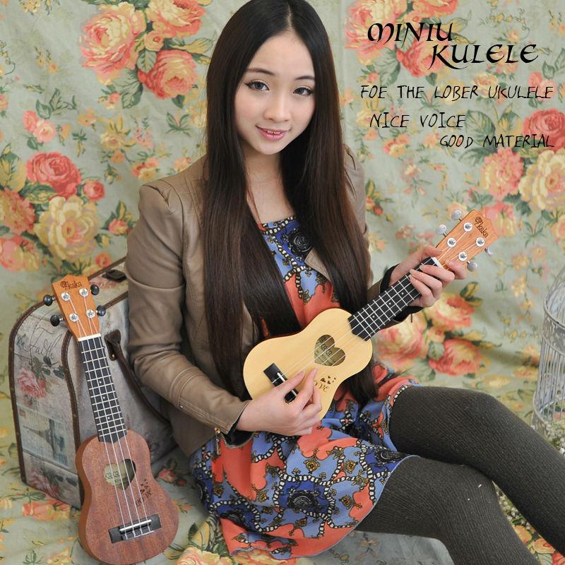 Huizhou mini harpa Ukulele ku-mini01 / 02
