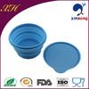 Wholesale silicone portable dog travel bowl COL-03