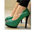 señoras sexy de tacón alto zapatos de plataforma de las mujeres zapatos de tacón alto tacón alto zapatos con puntera acero