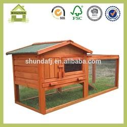 SDR15 wood farm rabbit house