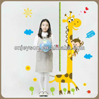 EJP12028 height chart vinyl sticker for kids