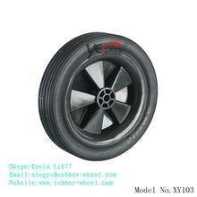 7 Inch rubber wheel for lawn mower