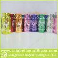 Cor diferente frasco garrafas vazias de penicilina frasco com tampa de alumínio plástico